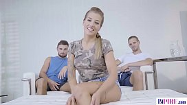 Bisex guys share pussy and asshole - Silvia Dellai, Jeffrey Lloyd and Ramy