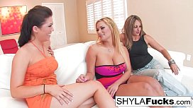 Sexy Shyla and London'_s Lesbian Encounter With Lexi