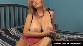 Horny Hot Milf Charlee Chase Talks Dirty &amp_ Gets Fucked!