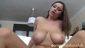Mother and Son Amazing Huge Tits