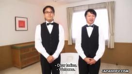 Japanese babes, Hikaru Shiina and Aira Masaki got fucked, uncensored