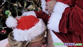 Family Orgy Celebrating Christmas