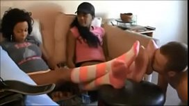 Kendra and Coco Two Girls Ebony Foot Worship