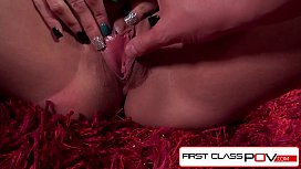 FirstClassPOV - Raven Bay Sucking principals monster Cock, big boobs and big booty