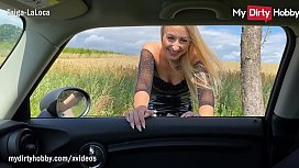 MyDirtyHobby - Blonde hitchhikes for sex and gets fucked by a stranger