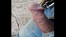 Outside stroll with my dick out