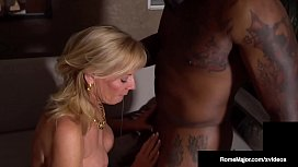 Hot Old Lady Presley St Claire Dark Dicked By BBC Rome Major