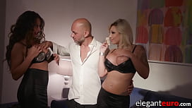European succubi analled and fed cum by hung gentleman