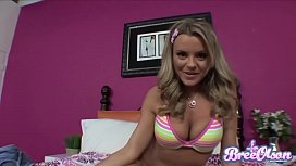 Busty Yanks Cutie Bree Olson Masturbating