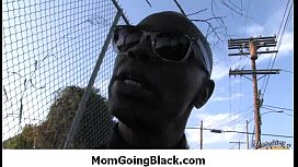 Interracial milf porn - Mommy rides black monster cock 10