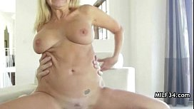 Horny MILF Can'_t Wait To Fuck Hubby