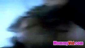 MommyVid.com - hottie brunette getting doggy