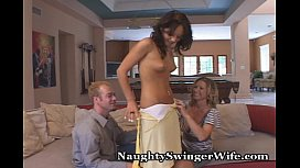 Exciting Threesome With Naughty Wife