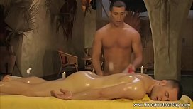 Erotic Gay Massage On The Table
