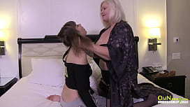 OldNannY Lacey Starr Seduced Super Hot Lesbian
