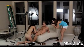 Playgirl gets off at the teen casting getting impaled on cock