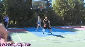Naked basketball sex game
