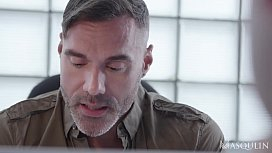 DAMON HEART GETS FUCKED IN THE OFFICE BY HIS BOSS MANUEL SKYE