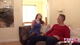 pure xxx films jizzing the horny housewife