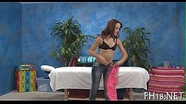Raunchy massage movie scenes