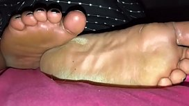 Bbw ebony foot fuck