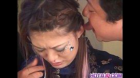 Japanese Glamour Babe Yukino Sucking