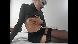 Blasfemo, Giada sexy segretaria convince il capo a darle una promozione? Bestemmie anal e squirt