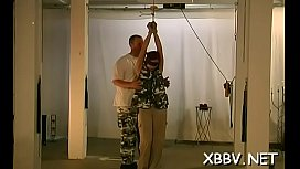 Tied up woman breast fetish torture scenes in sadomasochism xxx
