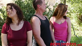Freaky swingers swap wives for hardcore fuck session