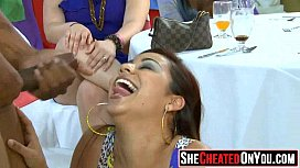 01 Party girls fucking at club with strippers 15