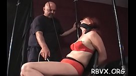 Lascivious babe Red muff fucking with a sex toy