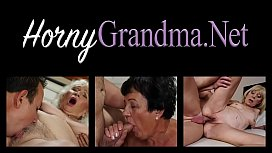 Doggystyle plowed grandma