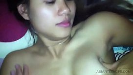 VERY BEAUTIFUL ASIAN GF on HOMEMADE SEX TAPE