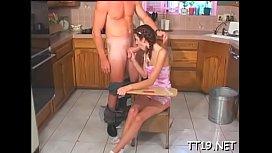 Sexy schoolgirl gets her tight ass fucked hard balls deep