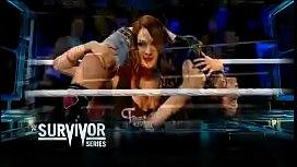Nikki Bella vs Emma. SmackDown 2014.