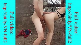 Asian couple have sex in the jungle - http://bit.ly/VN-full2