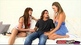 Alexis Adams and Bianca Breeze FFM 3some