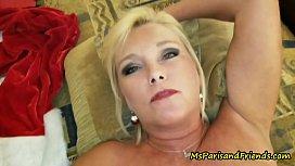 Ms Paris Rose is Santa'_s Smoking Hot Helper