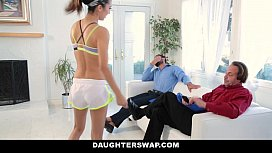 DaughterSwap - Helping Daughters Stretch and Fuck