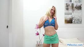 PHILAVISE-Budapest sexy encounter with super milf Caroline Dejaie
