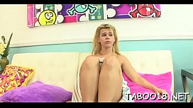 Marvelous teens toy pussy and please cock
