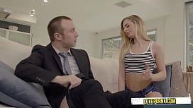 Naughty Stepdaughter Craves Some Daddy Dick