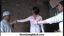 Watching my mommy going black 13