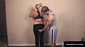 Wet Busty Milf Cougar Charlee Chase Gets Pussy Fucked By Her Hard Husband!