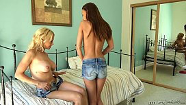 Porn free lesbian old with young