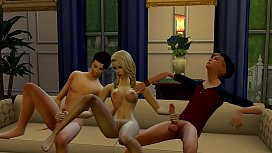 TEENS FUCKING - Threesome | The Sims 4: WickedWhims