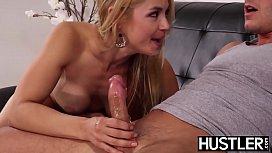 Tempting MILF Sarah Vandella banged with stud cock after BJ
