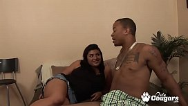 Alexandria Devine Has Her Big Mexican Booty Nailed By A Black Man