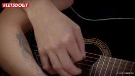 LETSDOEIT - Czech Brunette Gets All Wet Over Her Guitar Instructor (Lexi Dona)