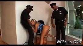 Darksome african porn